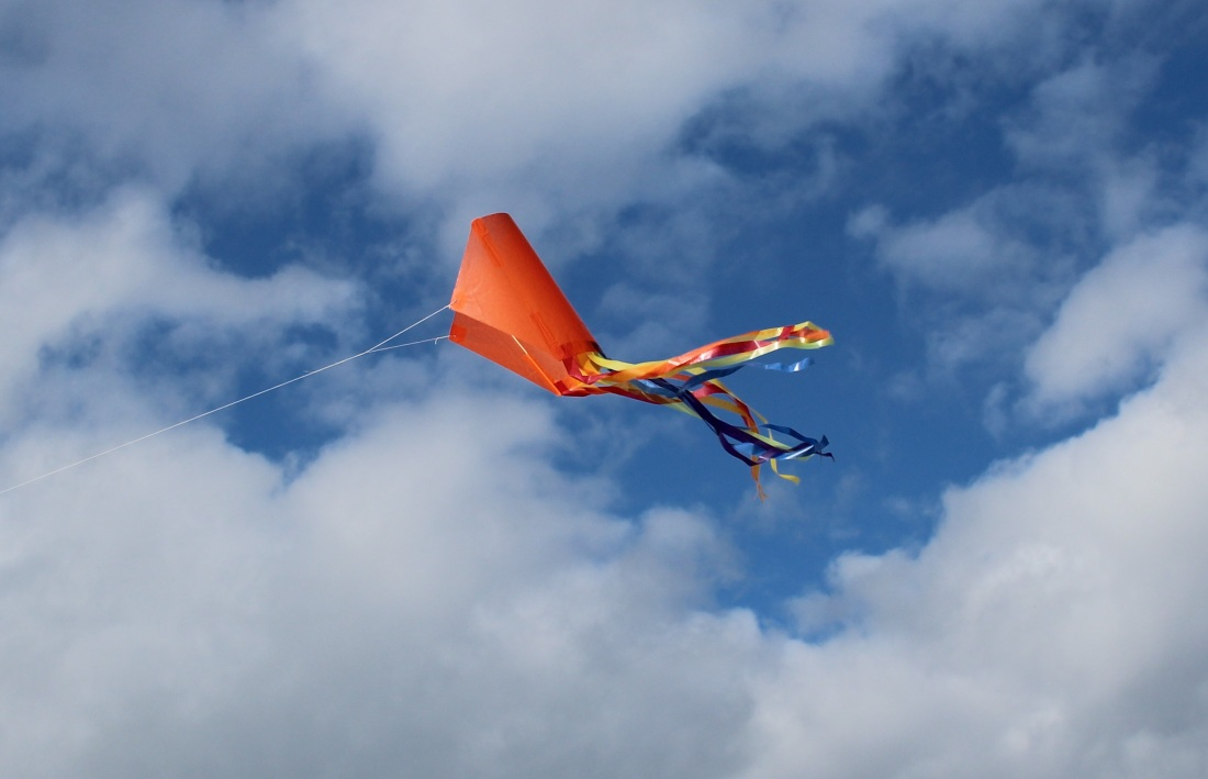 Kite side view